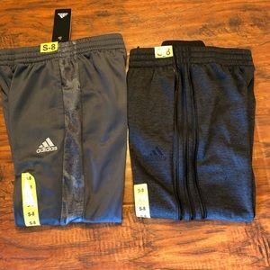 adidas Bottoms - 2 Adidas Pants Jogger/Track Sz 8